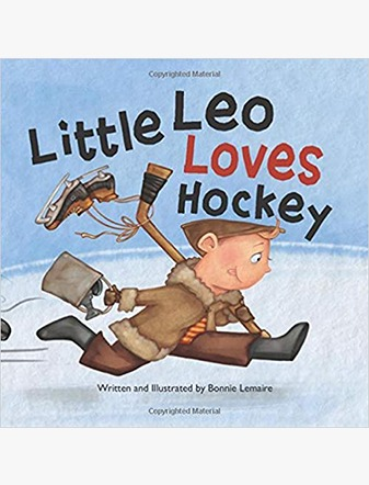 Little Leo Loves Hockey