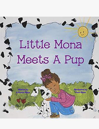 Little Mona Meets A Pup