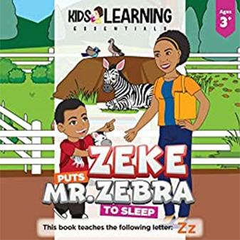 Zeke Puts Mr. Zebra To Sleep