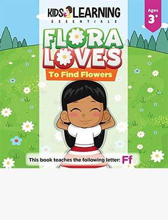 Flora Loves To Find Flowers
