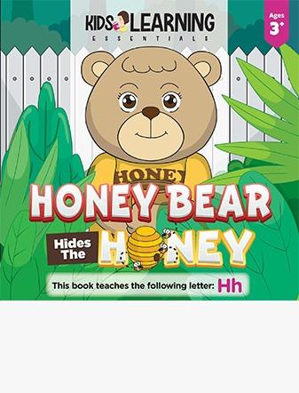 Honey Bear Hides The Honey